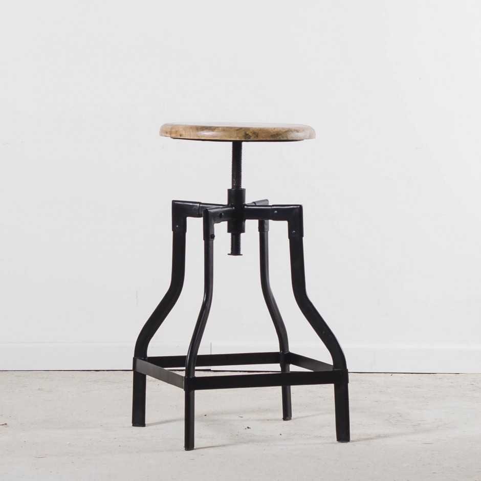 Tabouret bar réglable