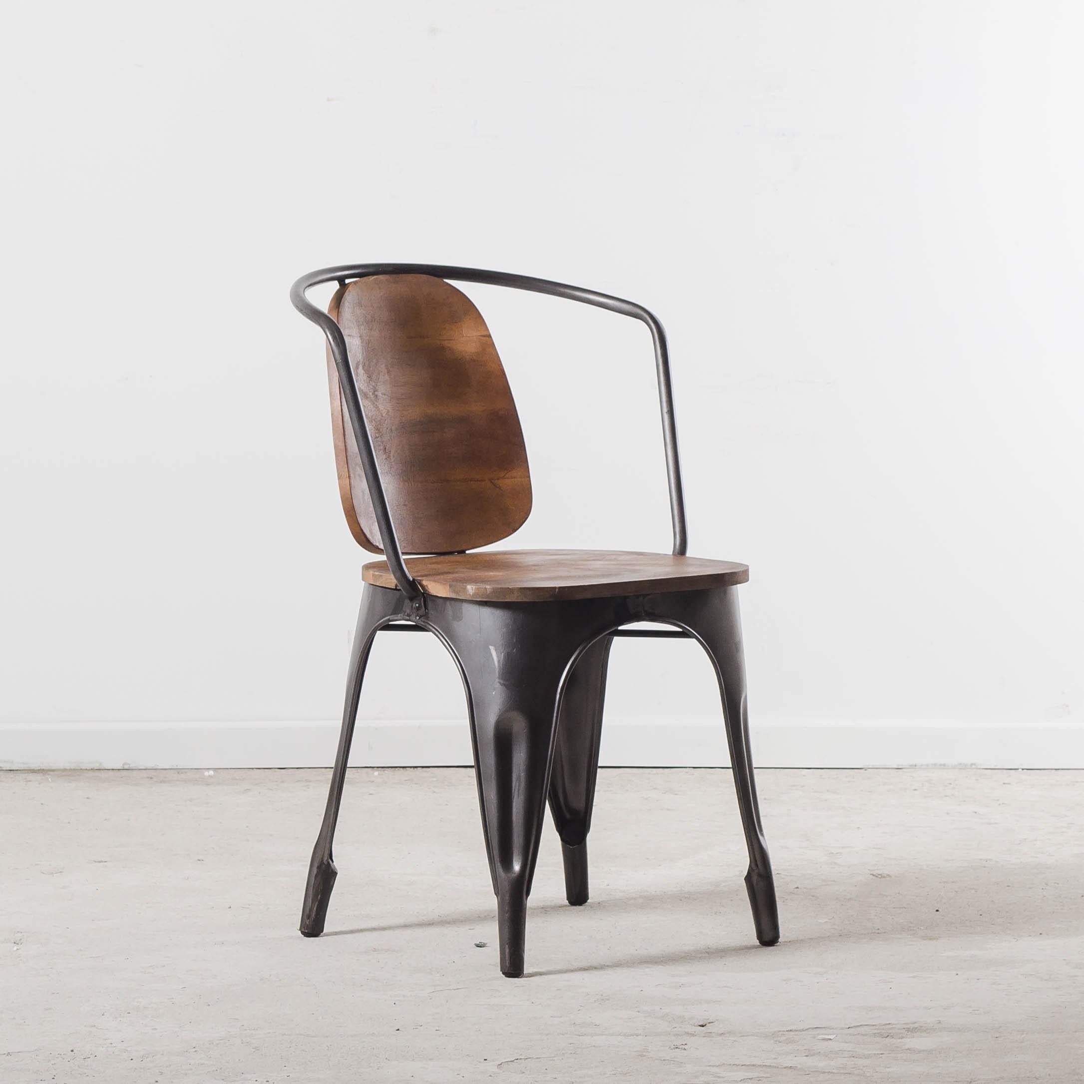 Style De Chaises Anciennes chaise siège esprit tolix, pour un intérieur style bistrot