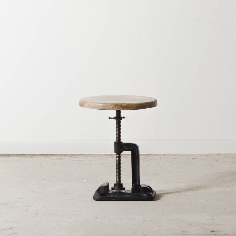 tabouret ajustable industriel