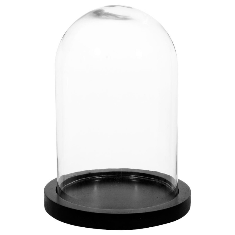 lampe sous cloche globe vintage effet apothicaire avec ampoule r tro. Black Bedroom Furniture Sets. Home Design Ideas