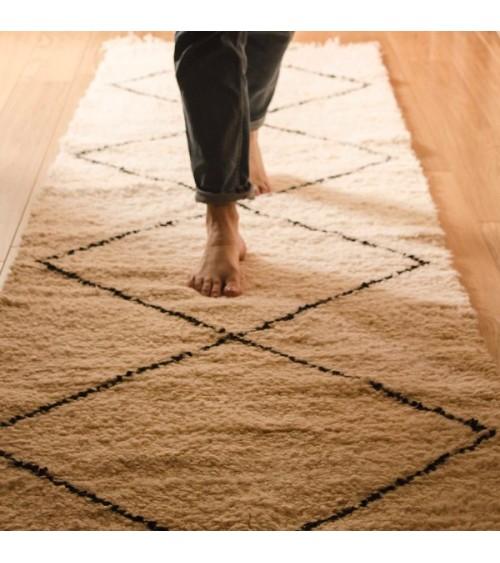 tapis à franges