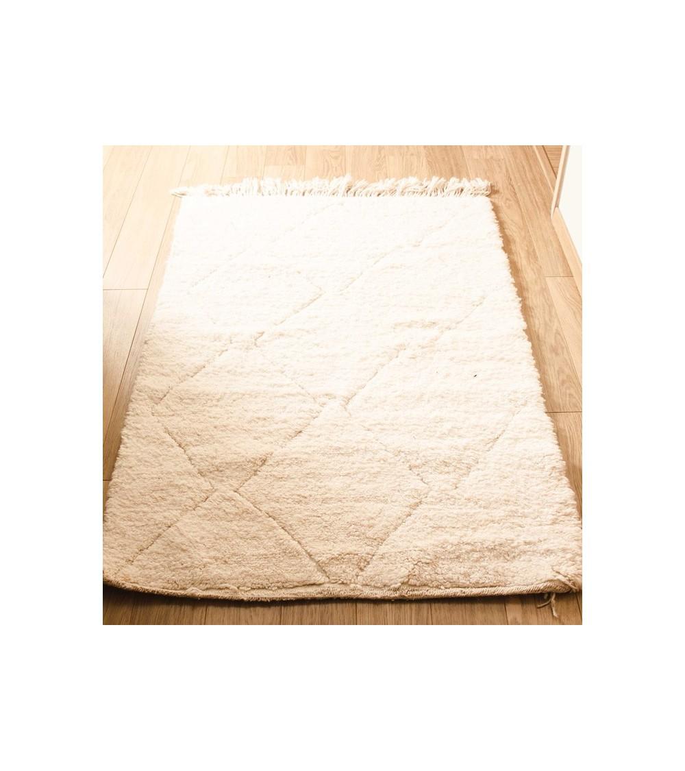 Tapis laine beige